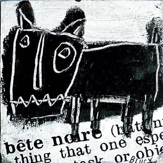 the black beast, bête noire